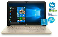 "HP 17.3"" Laptop Touchscreen WIN10 8GB 1TB WiFi Bluetooth WEBCAM (FULLY LOADED)"