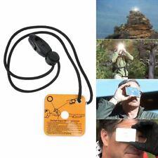 Outdoor Survival Mirror Practical Emergency Kit Reflective Survival Signal Mirro