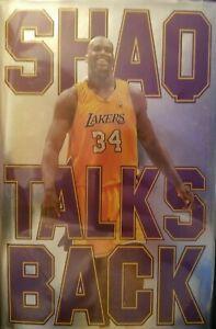 AUTOGRAPHED Shaquille O'Neal Signed Book Shaq Talks Back HC AUTOGRAPH NBA AUTO
