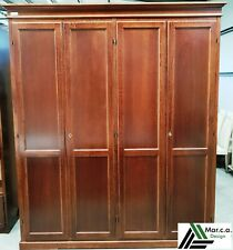 Closet 4 Doors, Color Walnut (758)