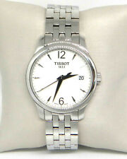 TISSOT TRADITION SILVER DIAL LADIES WATCH T0632101103700  $375.00