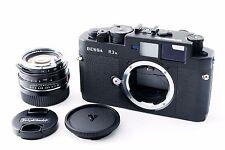 【Exc++++】Voigtlander Bessa R3A mat Black body Nokton 40mm f1.4 SC Lens 204268