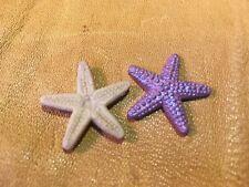Safari Ltd  Good Luck Minis Purple Starfish 10 PCS**Same Day FREE Shipping**