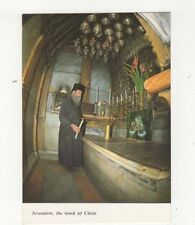 Jerusalem The Tomb Of Christ Church of Holy Sepulchre Postcard 615a