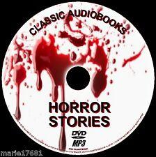 60 BEST Clásico Terror audiolibro NOVELAS Y Corto Historias Inglés Nueva PC DVD