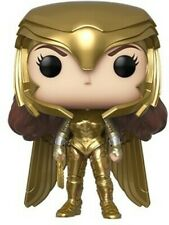 Funko Pop! Heroes: Wonder Woman 1984 - Wonder Woman Gold Power(Metallic) [New To