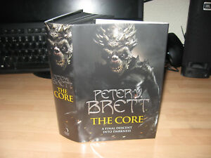 Peter V Brett - The Core Signed Stamped Numbered 1st 32/100 Demon Cycle 5 ending
