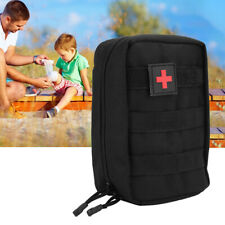 Travel Survival Bag First Aid Kit Pouch Bags Outdoor Emergency Military NEW