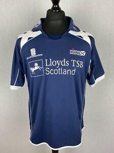 Scottish Saltires Ss Surridge Cricket Shirt Men's Size M Scotland Cricket Jersey