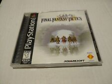 Final Fantasy Tactics Black Label Playstation 1 PS1 100% COMPLETE! Perfect works
