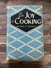 Vintage 1946 The Joy of Cooking Irma S. Rombauer 1940's Housewife Recipes WWII