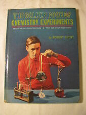 The Golden Book of Chemistry Experiments Robert Brent 1960 Rev Ed BANNED HC