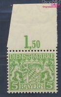 Baviera d17w examinado, papel de paz y engomado de paz nuevo 1916 Emblem(8357920