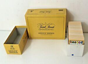 Trivial Pursuit Genus II Edition 3000 Questions Cards Box Set 000044 1988 Parker