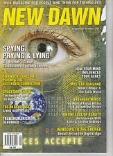 SEPT/OCT 2013 New Dawn (Conspiracy) Magazine -  SPACESHIP EARTH - SPYING