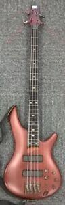 Ibanez SR500F 'SoundGear' 4 String Bass Guitar Brown  Wood Active Pickups #178
