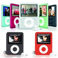 "8GB MP3 1.8"" Slim 3rd MP4 Player LCD Screen Media Video Music FM Radio Games"