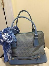 TOMMY HILFIGER TOTE SATCHEL PURSE BLUE PRICE MARKED DOWN