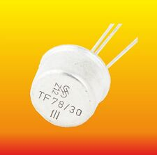 TF78/30 III LOT OF 2 SIEMENS GERMANIUM PNP TRANSISTORS 2.7 W 0.6 A ~2SB105 ADY10