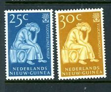 Netherlands New Guinea Scott # 39, 40 - MH
