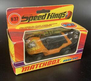 Matchbox Lesney SpeedKings K-37 Sand Cat in Original Box