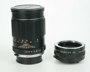 Tokina Tele Auto 135mm 1:2.8 obiettivo tele portrait lens Olympus om mount
