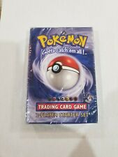 Pokemon Base Set 2-Player Starter Deck Factory Sealed 1999 WOTC MINT!!! LOOK !!!