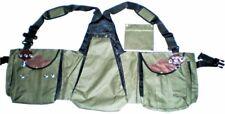 Falconry Vest, Hawking, Bird Handling Codura Vest (Olive Green Color) (All Size)