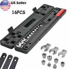 16x Ratcheting Wrench Serpentine Belt Tool Car Repair Tool Automotive Set Socket