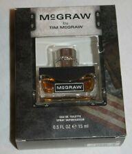 McGraw by Tim McGraw Eau De Toilette Spray Cologne .5 fl oz NEW in BOX