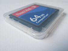 64MB SanDisk CompactFlash CF Memory Card SDCFB-64/SDCFJ-64 Genuine New W/Case