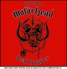 Motorhead Very Best 20 Greatest Hits Collection CD Heavy Metal Lemmy Girlschool