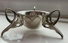 More details for unusual wmf jugendstil silver plated art nouveau tea strainer.