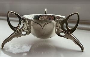 Unusual WMF Jugendstil Silver Plated Art Nouveau Tea Strainer.