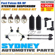 Ford Falcon BA BF Front Ball Joint Sway bar link Rack End Tie Rod End Boot Kit