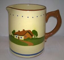 """LOVELY VINTAGE DARTMOUTH POTTERY MOTTOWARE JUG-""""ARD OR NO, TAK' 'EM AS THEY CUM"""""""