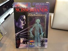 EDWARD SCISSORHANDS PREVIEWS EXCLUSIVE ICE SCULPTURE FIGURE TRANSLUCENT BLUE MOC