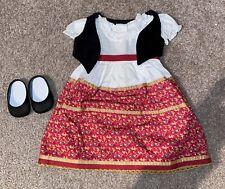 American Girl Doll Josefina's Dress and Vest EUC Complete