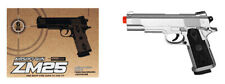 Cyma Metal Plinker Spring Powered Airsoft 1911 ACP Pistol in Silver ZM25S