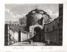 Roma, Roma, Italia, Pausania Romolo, grande rame chiave di Parboni di 1826