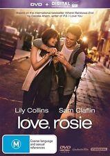 Love, Rosie (Dvd) Comedy, Romance, Lily Collins, Sam Claflin, Christian Cooke