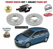 para FORD FOCUS C MAX 1.8i 2003-2007 Discos freno Delantero Set & Discos Kit