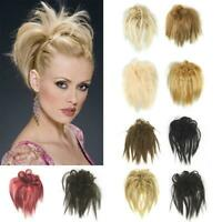 Fashion Women Curly Messy Bun Hair Piece Hair Extensions Wig Hair Ring Cosplay