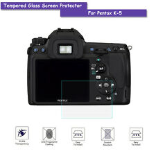9H Tempered Glass Screen Protector Film for Pentax K5 K-5 Camera Accessories