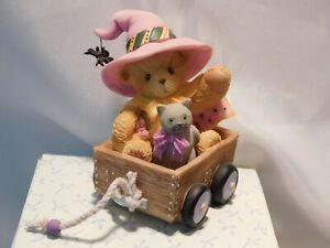 "Cherished Teddies HALLOWEEN ""GERTIE"" - Baby Witch - Limited Edition - Mint"