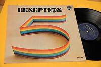EKSEPTION LP 5 ORIG ITALY 1972 NM !! GATEFOLD LAMINATED COVER