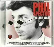 PHIL SPECTOR THE EARLY YEARS - 2 CD BOX SET - A MUSICAL LEGEND FOR OVER 40 YEARS