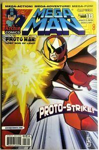 MEGA MAN COMIC BOOK #18 Variant December 2012 PROTO TYPE Pt 2 Bagged Boarded VF+