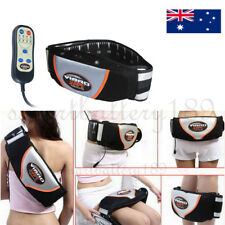 Toning Belt ABS AB Tone Front Musle Abdominal Stomach Toner Electric Massager AU