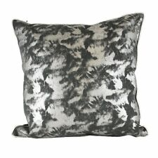 One Duck Two Silver Mist cushion cover - metallic look 45 x 45